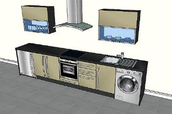 Kitchen Design Landing Page