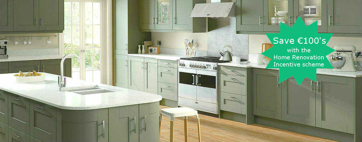 Modern Classic Gresham Olive 2 Kitchen Design